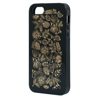 Rifle Paper Co. - Golden Bouquet Black iPhone 5 Case - INLAY