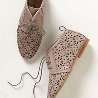 Anthropologie - Flore Lasercut Booties
