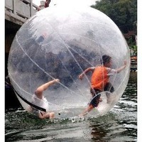 Amazon.com: DHL shipping super funny BN Water Walking ball Walk on Water 2 Meters Diameter: Sports &amp; Outdoors