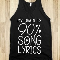 90% SONG LYRICS