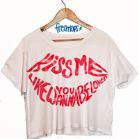 Kiss Me Crop Top