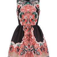 REDValentino - Printed dress Women - Dresses Women on Valentino Online Boutique