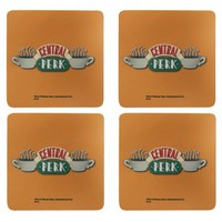 Friends Central Perk Coasters – 4 Pack