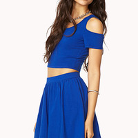 Spotlight Cutout Skirt Set