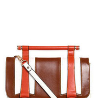 Holly Contrast Detail Chainstrap Satchel 