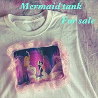 MERMAID LAGOON peter pan mermaids disney and blue lace by ammeB