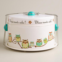 Whooo Wants Cake Owl Cake Carrier | World Market