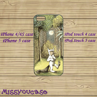 iphone 4 case,iphone 4s case,cute iphone 4 case,iphone 5 case,cute iphone 5 case,Where the Wild Things Are,cool iphone 5 case,ipod 5 case