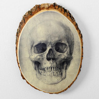 Skull Plaque- White One