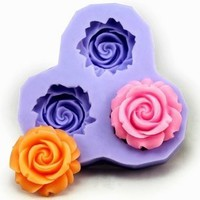 2.9cm Flower F0130 Fondant Mold Silicone Sugar mini mold Craft Molds DIY Cake Decorating:Amazon:Home & Kitchen