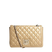Love Moschino Chain Strap Quilted Shoulder Bag