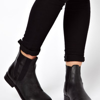 ASOS AUTHOR Leather Chelsea Ankle Boots