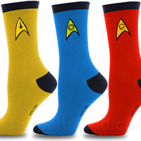 STAR TREK SOCK SET