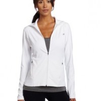 Champion Women's Absolute Workout Jacket, White, X-Large