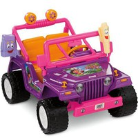 Power Wheels Dora the Explorer Jeep Wrangler