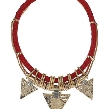 Triangle Rope Collar - Accessories  - New In