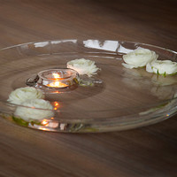 Oilo Glass Dish - Inspired by Island Peacefully Rising from the Ocean