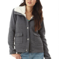Sherpa Lined Fleece Jacket