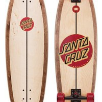 Santa Cruz Woody Shar Dark Complete Longboard Skateboard - 36`
