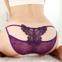 Lace Hipster Shortie with Butterfly Back 01A