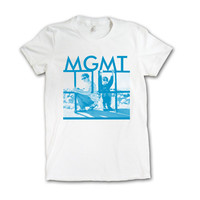 MGMT Music Merchandise Store  - MGMT  Girl's Photo T-shirt [PREORDER]