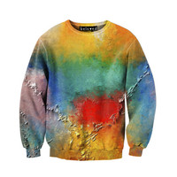 Paint on Canvas Unisex Sweatshirt