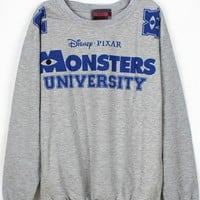Fashion Cartoon Monster Sweatshirt - OASAP.com