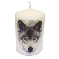 Wolf Candle at Every Witch Way Online Shop