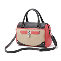 Black and Red Doctor Bag