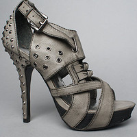 Karmaloop.com - Global Concrete Culture - The Tough Cookie Shoe in Grey by Naughty Monkey