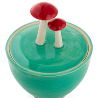ModCloth Mushrooms, Scholastic Forage for Sweets Sugar Bowl