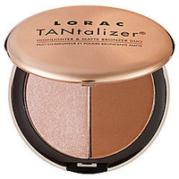 LORAC TANtalizer® Highlighter & Matte Bronzer Duo: Shop Bronzer | Sephora