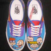 """Hand Painted """"Rugrat"""" Shoes"""
