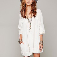 Free People Pop Stitch Swing Tunic