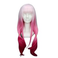 "Taobaopit 26"" Gradient Light Pink to Fushia Cosplay Wig -- Guilty Crown Yuzuriha Inori:Amazon:Beauty"