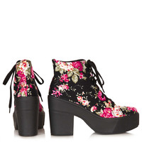 ASTRIX Chunky Lace-Up Boots - New In This Week - New In - Topshop USA