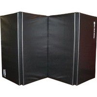 "We Sell Mats 1.5"" and 2"" Thick 4x8 Gymnastics Tumbling Exercise Folding Martial Arts Mats with Hook and Loop Fasteners on All 4 Sides Highest Quality Crosslink Polyethylene Foam Core"