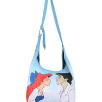 Disney The Little Mermaid Kiss Hobo Bag | Hot Topic