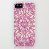 Vintage Mandala-Purply iPhone & iPod Case by Groovity
