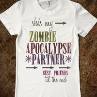 Zombie Apocalypse BFF (Left Side)