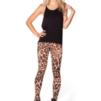 Baby Giraffe High-Waisted Leggings