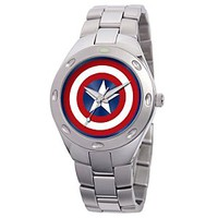 Captain America Watch for Men | Disney Store
