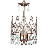 Sovereign Chandelier in Gold
