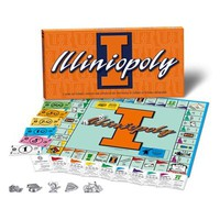 Illinois Fighting Illini ILLINIOPOLY Board Game