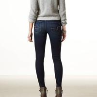 AEO Women's Hi-rise Jegging (Dark Wash)