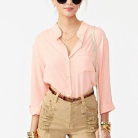 Slasher Flick Cutoff Short - Tan in What&#x27;s New at Nasty Gal