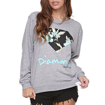 Diamond Supply Co Diamond Floral Crew Fleece at PacSun.com