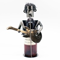 Guitarist Wine Bottle Holder