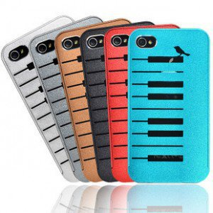 Iphone4 /4s Piano And Bird Pattern Series Phone Shell