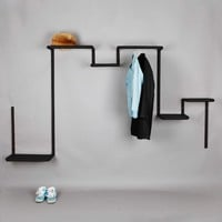 Floor 95 Wall Unit 2 - Black -10%